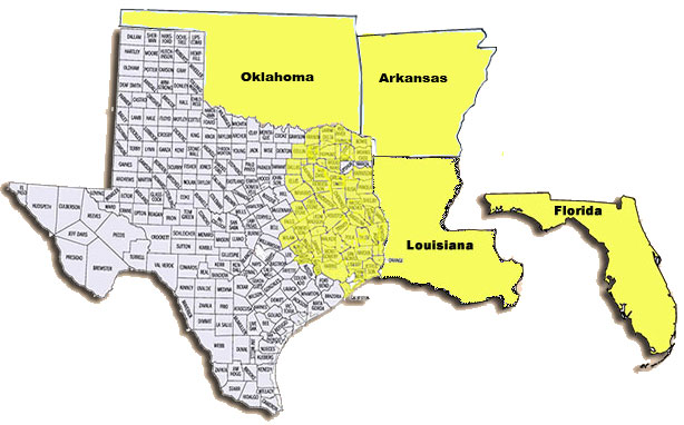 Areas we serve: Fannin County, TX, Bowie 